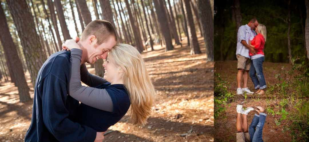 Engagement Session at Sesquicentennial State Park