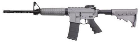Ruger AR556CTG Autoloading Rifle 8505, 16.10 in, Adjustable Stock, Tactical Grey Finish, 30 Rd