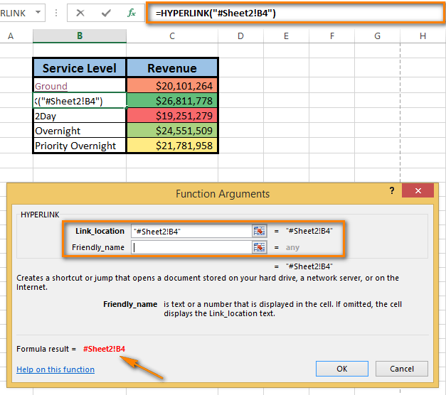 How To Insert A Hyperlink To Another Sheet In Excel
