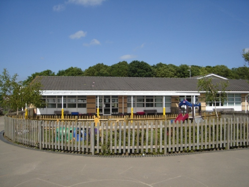 Furley Park Primary School Wall Mounted Canopy Able