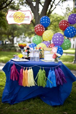 Photo Shoot Rainbow Party A Blissful Nest