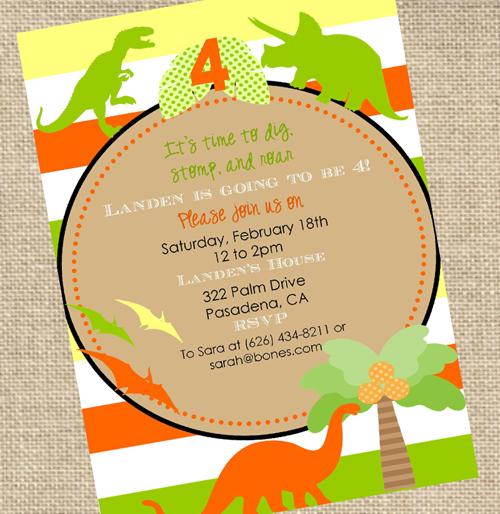 Dinosaur Themed Birthday Party Blissful Customers A