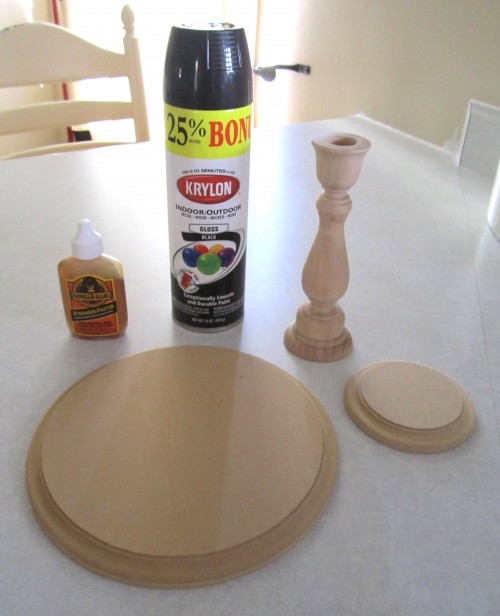 DIY Tutorial Candlestick Cake Stand A Blissful Nest