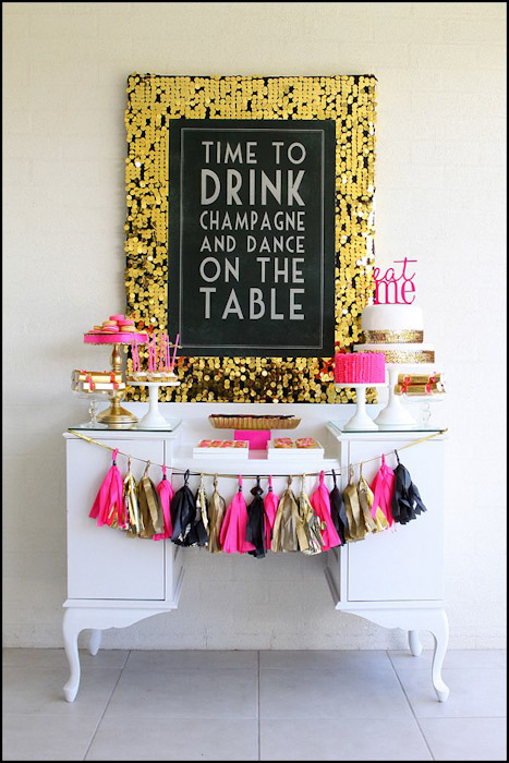 Adult Birthday Party Ideas Fabulous 40th Birthday Party