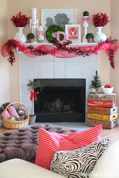 christmas home tour our family room christmas edition