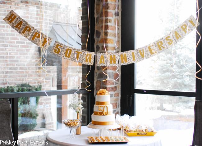 Golden Wedding Anniversary Gifts Ideas: Golden 50th Wedding Anniversary