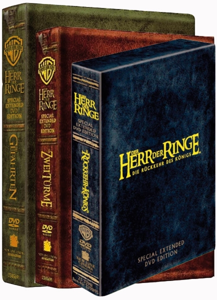 Der Herr Der Ringe Extended Edition Dvd