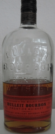 Bulleit Bourbon Frontier Whiskey Flasche