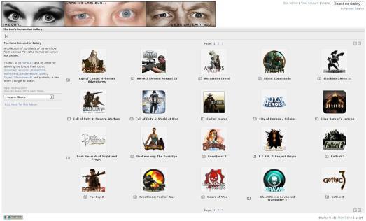 Don Salva's Screenshot Gallery