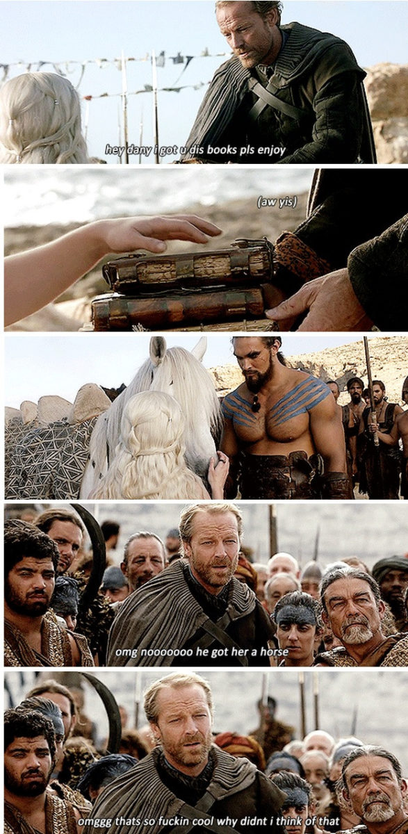 "36 Ser Jorah ""Friendzone"" Mormont Memes To Make You LOL - Game of"