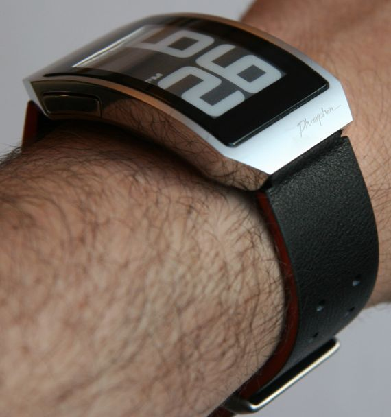 Phosphor World Time E Ink watch review - Engadget