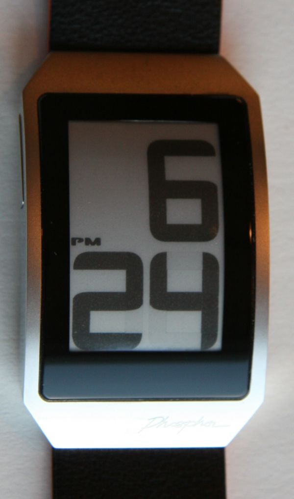 Phosphor Watches World Time E Ink Watch Review - YouTube