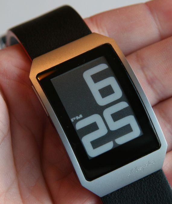 Phosphor E Ink Digital Hour Clock Watch Review – Chip Chick