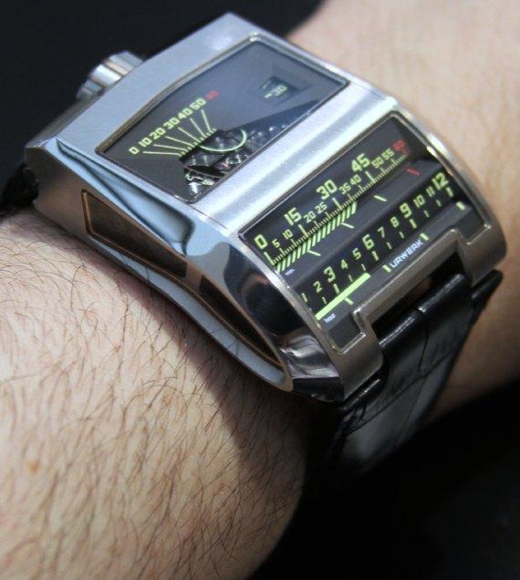 Urwerk UR-CC1 King Cobra Watch Hands-On Hands-On