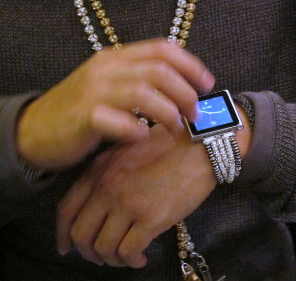 iPod Nano Gets Blinged Out - Proves Watches Never Went Out Watch Style
