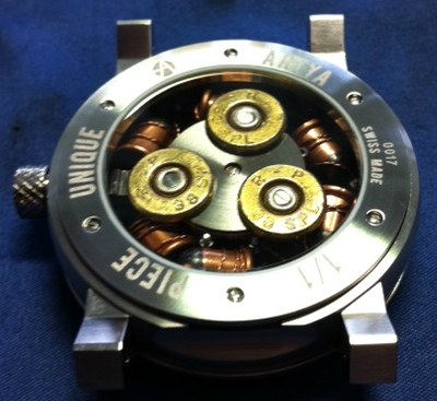 Artya Son Of A Gun Watches Use Real Bullets Watch Releases