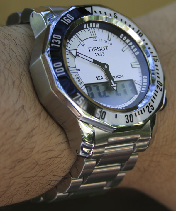 tissot sea touch watch review ablogtowatch rh ablogtowatch com Tissot Diver tissot sea touch user guide