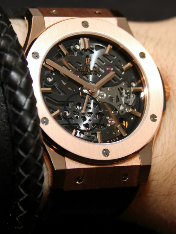 Hublot Classic Fusion Extra-Thin Skeleton Watch Hands-On Hands-On