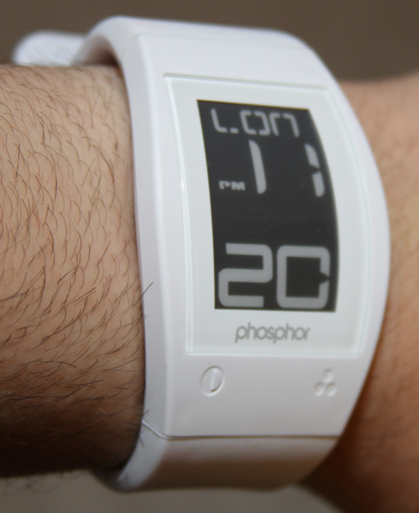 Review of the Phosphor E Ink Watch - WatchReport.com