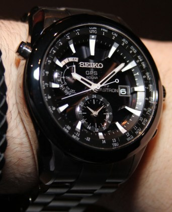 Seiko Astron GPS Solar Watch Hands-On Hands-On