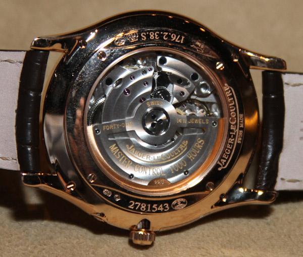 Jaeger-LeCoultre Master Ultra Thin Réserve de Marche Watch Hands-On Hands-On