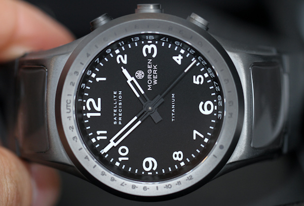 Morgenwerk Satellite Precision Watch Is More Accurate Than Your Mobile Phone Watch Releases