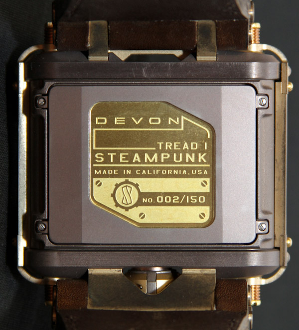 Devon Tread 1 Steampunk Watch Review Wrist Time Reviews