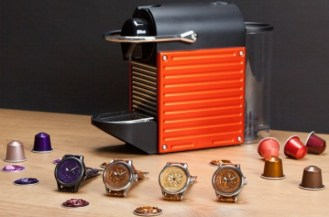 Blancier Grand Cru Watch With Nespresso Capsule Dial Watch Releases