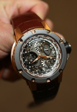 Richard Mille 58-01 Tourbillon World Timer Limited Edition Watch Watch Releases