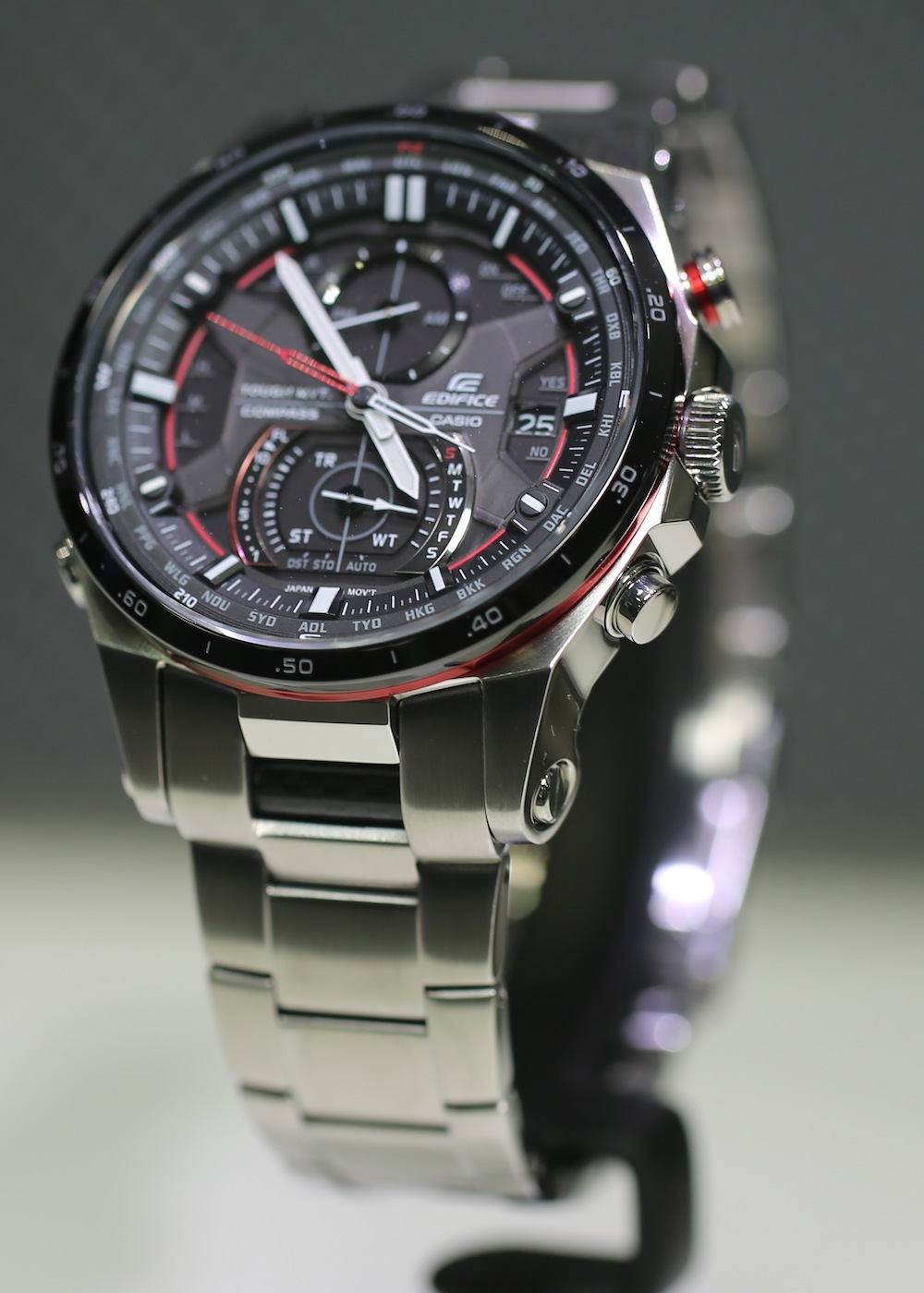 Casio Edifice EQW A1200 Sensor Chronograph Watch For 2013