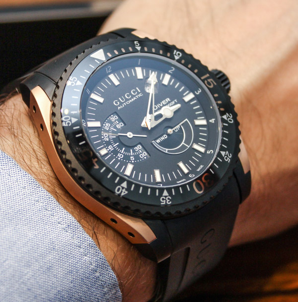 Girard Perregaux For Gucci Dive Xl Watch Hands On