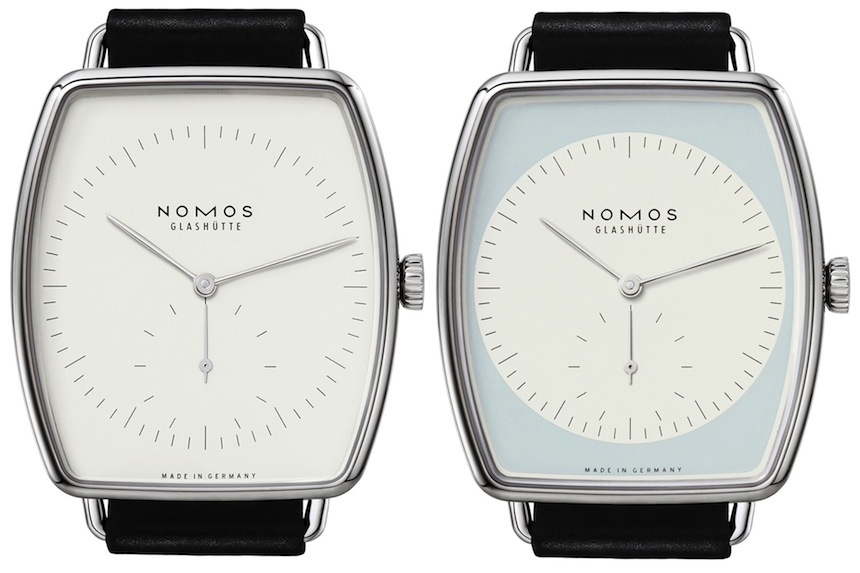 The New Nomos Lux Weissgold Watch