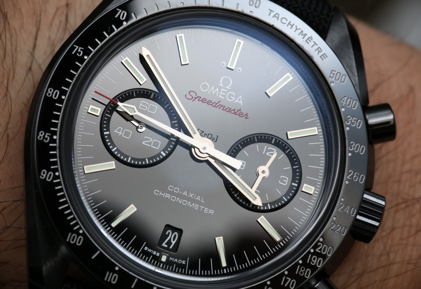Omega Speedmaster Co Axial Chronograph Dark Side Of The
