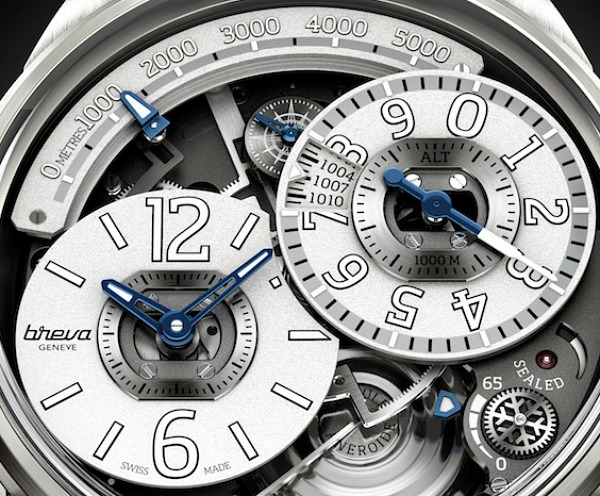 Breva Genie 02 Terra Watch With Accurate Mechanical Altimeter Watch Releases