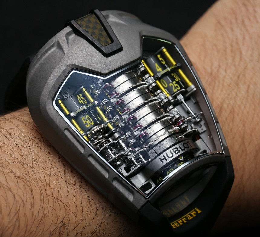 Ferrari watch hublot