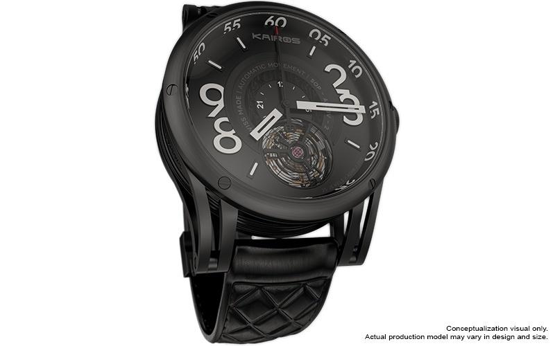 Kairos Smartwatch Blends Mechanical Watch With Technology ...