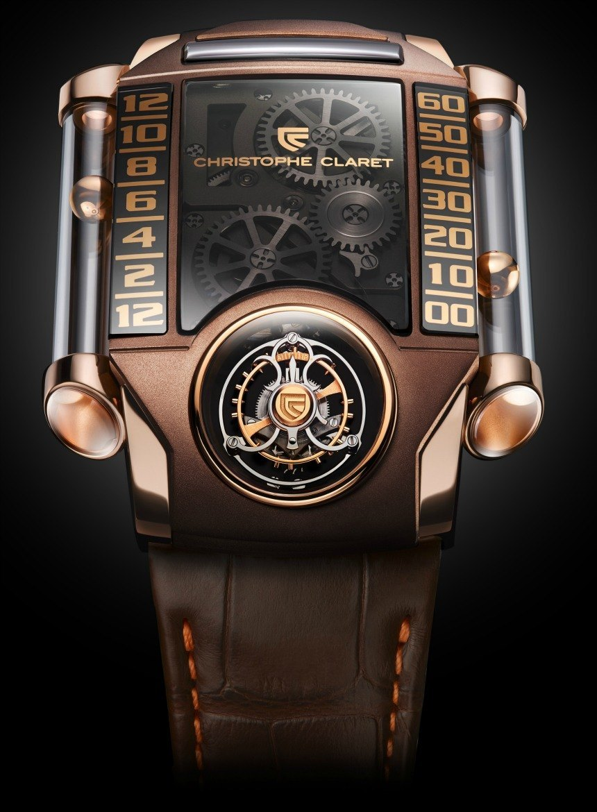 Christophe Claret X Trem 1 Chocolate Watch   watch releases