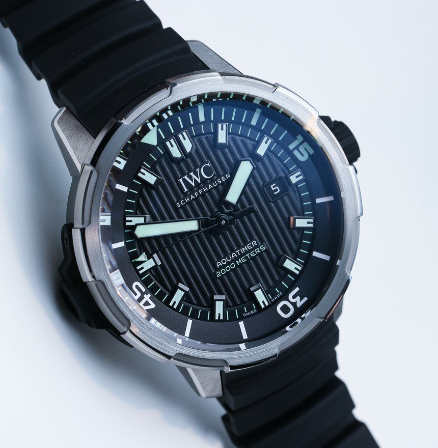 IWC Aquatimer Automatic 2000 Watch Hands-On   aBlogtoWatch