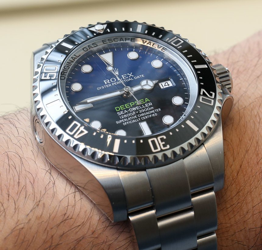 James Cameron Rolex Deepsea Sea Dweller D Blue Review