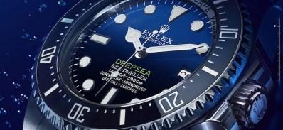 Rolex Deepsea Sea-Dweller D-Blue Dial Watch Is Tribute To James Cameron Deepsea Challenge 3D Movie Watch Releases