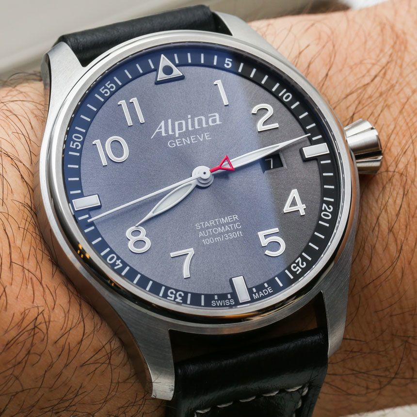 Alpina Startimer Pilot Automatic Watches For HandsOn - Alpina startimer