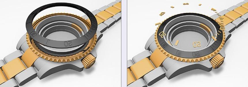 Guy 3D Prints Excellent, Massive Rolex Submariner Watch: A True Desk Diver Featured Articles