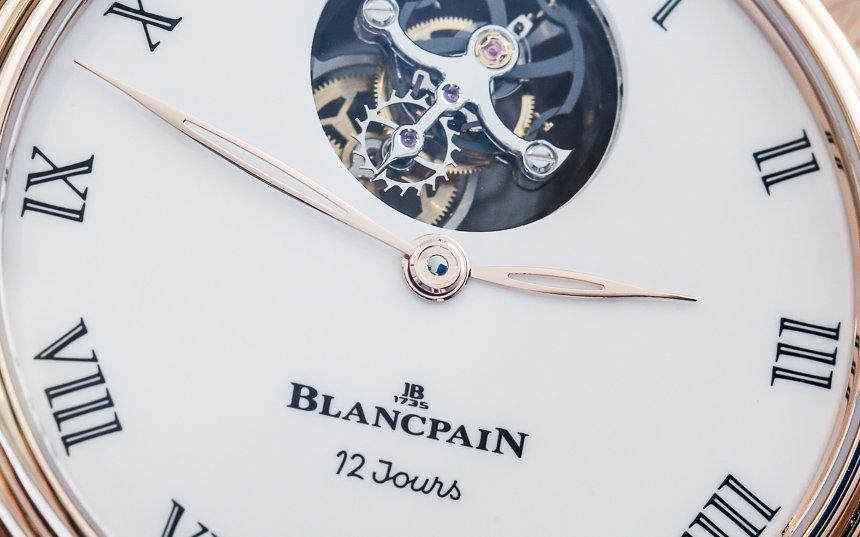 Blancpain Villeret Tourbillon Volant Une Minute 12 Jours Watch Hands-On