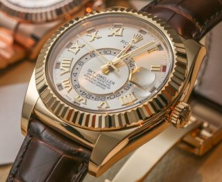 Rolex Sky-Dweller Watch: New Gold Colors Hands-On Hands-On