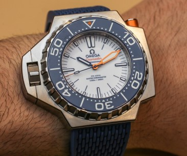 Omega Seamaster Ploprof 1200M Co-Axial Master Chronometer Watch Hands-On Hands-On