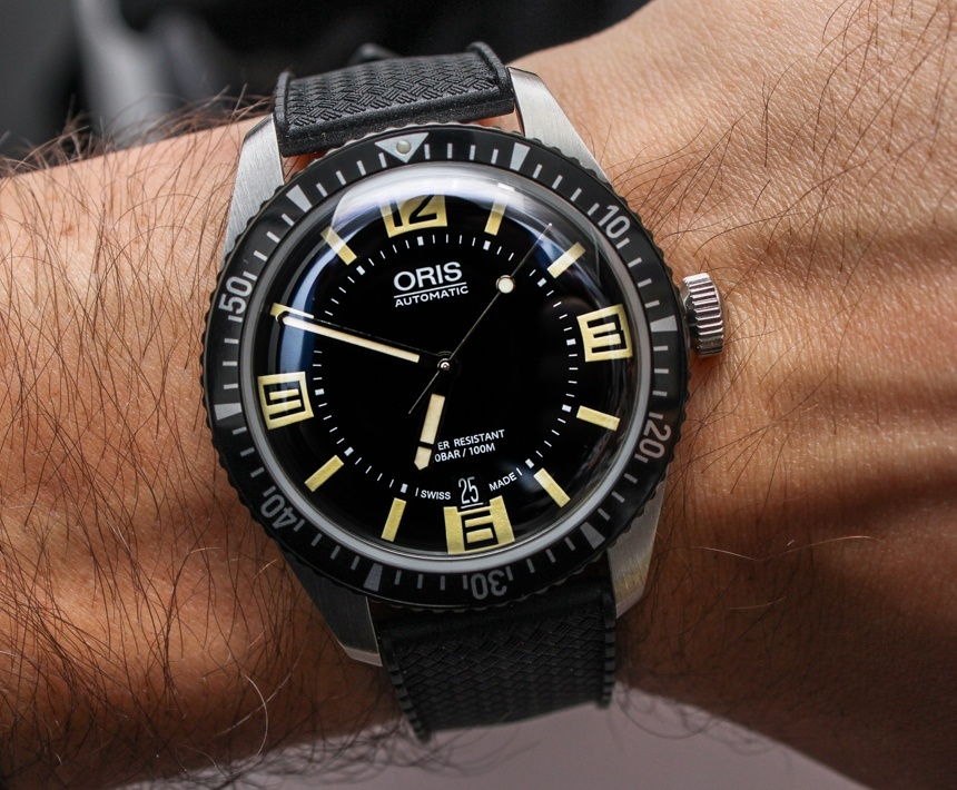 Oris Divers Sixty Five Watch Hands On Ablogtowatch