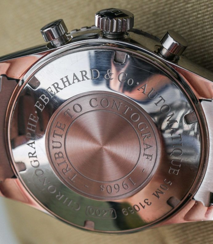 Eberhard & Co. Contograf Watches In Black & Camouflage Hands-On Hands-On
