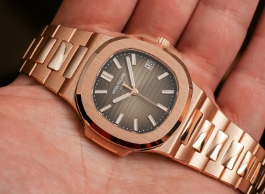 Patek Philippe Nautilus 5711/1R Watch In All Rose Gold Hands-On Hands-On