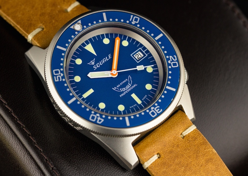 squale 50 atmos ocean blasted 1521 026 diver s watch review