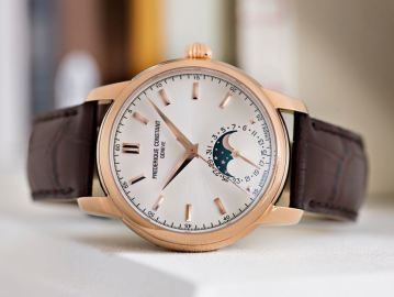 Brand New Frédérique Constant Classic Manufacture Moonphase With In-House Caliber Watch Releases